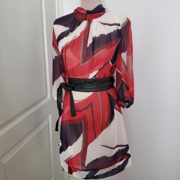Eva Mendes long sleeve dress sz XS